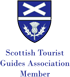 Scottish Tourist Guides Association Member - Blue Badge